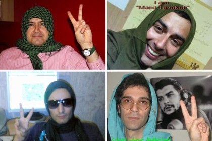 Why Iranian men wear headscarves to protest  German to English Men Wearing Headscarves
