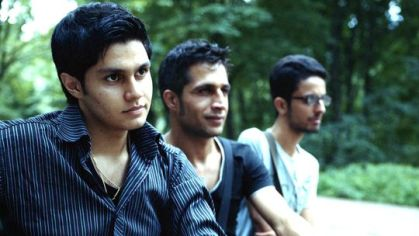 Sepehr Atefi, Ali Kantouri and Hesam Misaghi in Berlin (photo: Tobias Kruse)